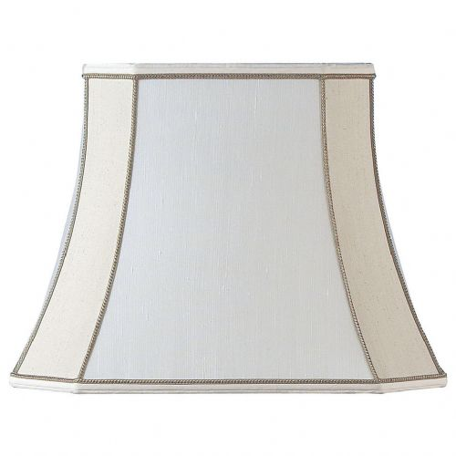 "12"" Beige Square Cut Shade CAMILLA-12"